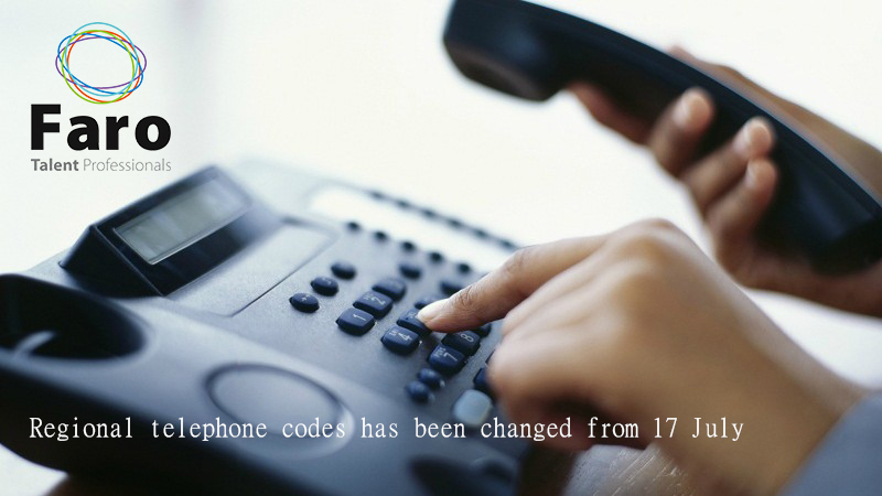 Announcement: Change in Regional Telephone Codes in Vietnam