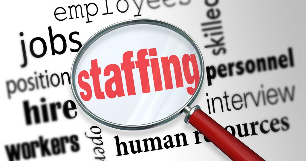 If you are looking for staff solutions, let we help you