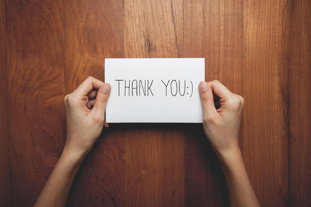 The importance of a thank-you letter in HR and Recruitment