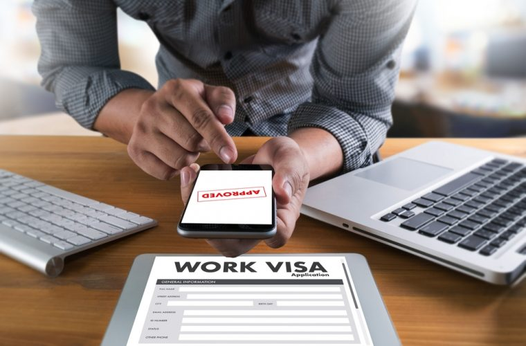 Outsource service in getting visa and work permit