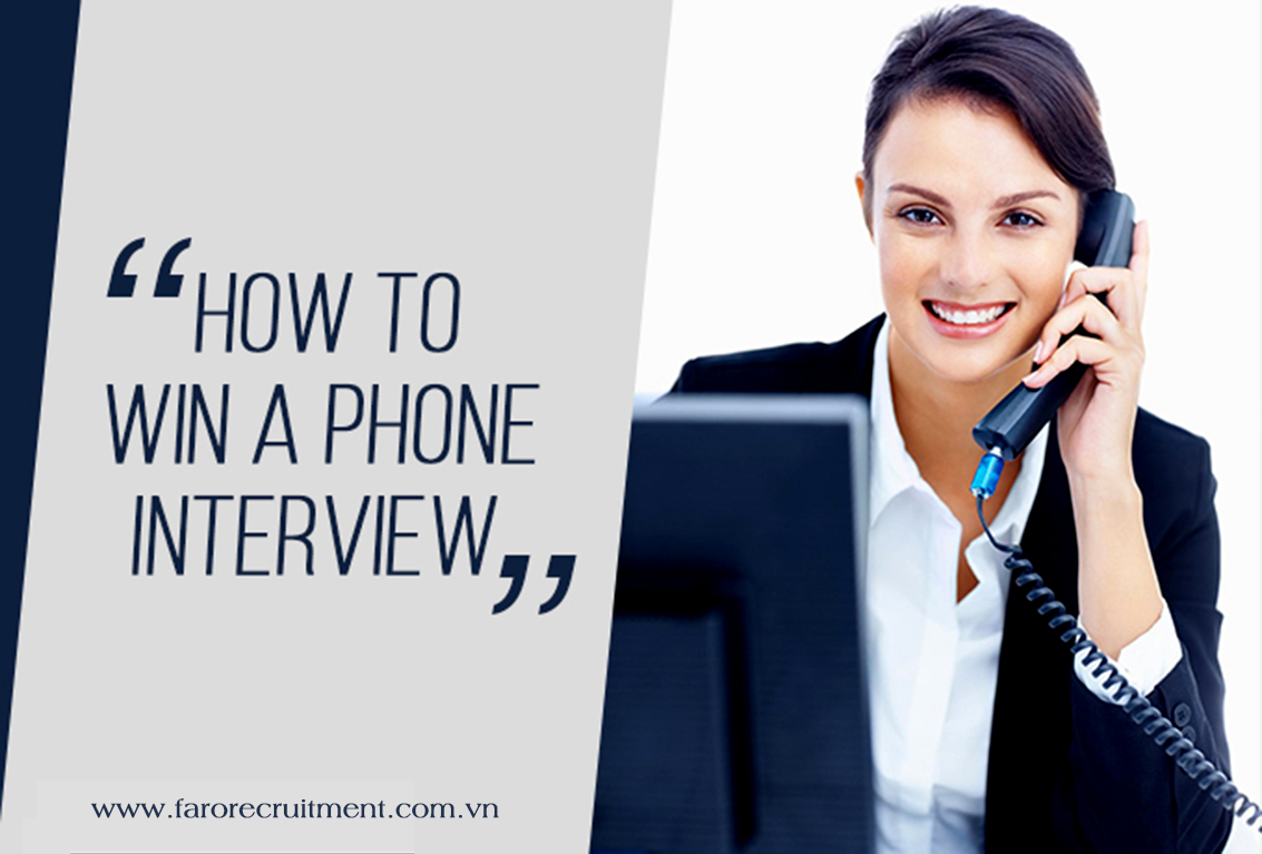 How to win a phone job interview?