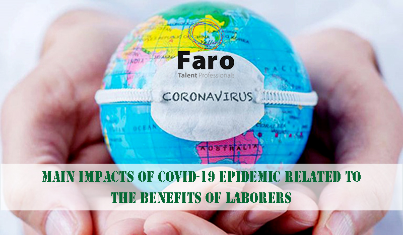 Main impacts of Covid-19 epidemic related to the benefits of employee