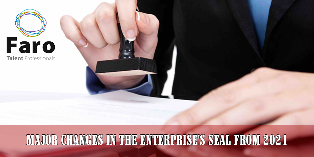 MAJOR CHANGES IN THE ENTERPRISE'S SEAL FROM 2021