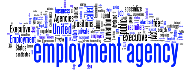 Agency employment basically does not have request for any specific vacant application, rather, it offers the candidates free choice of fields to enter into