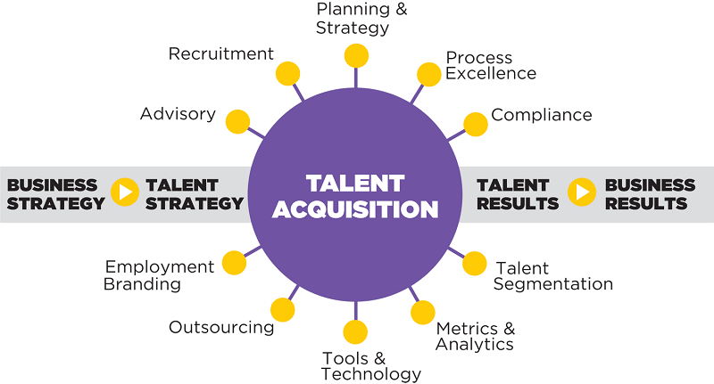 HR talent acquisition estimate what the company wants in their workers at present and in the future